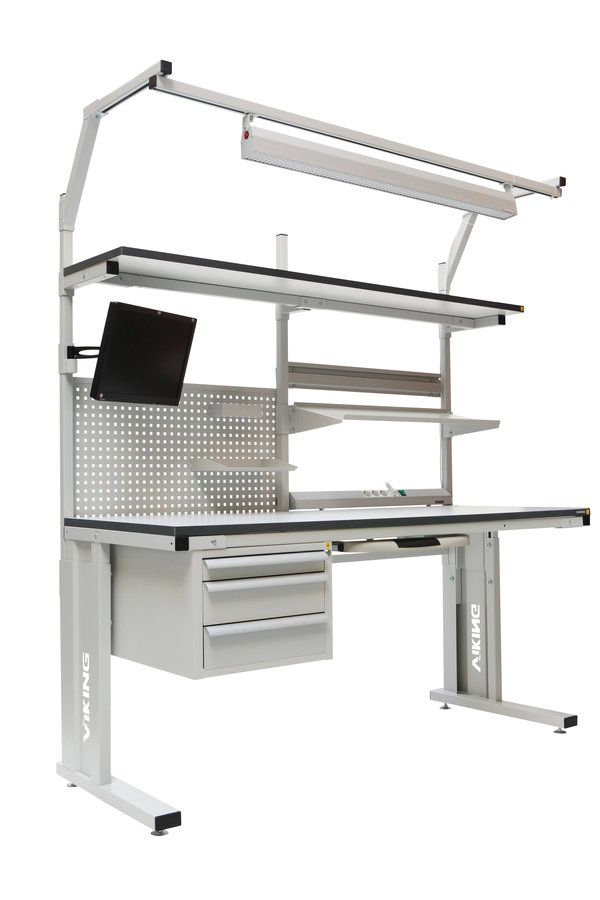 ESD_workbench, Industrial antistatic Workbench, ESD workbenches, electronic bench, modular workbench, ESD safe workbench, Electronics Workbench, workbench for electronics