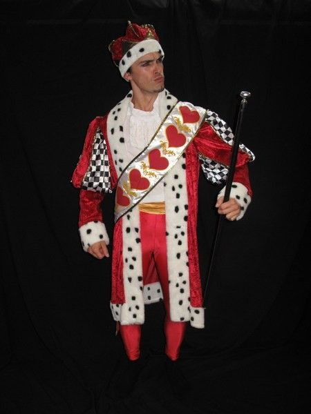 king of hearts costume - Google Search