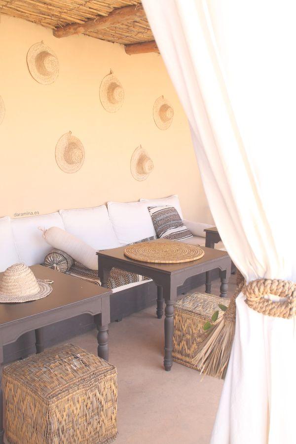 moroccan style. riad snan13. marrakech. outdoor