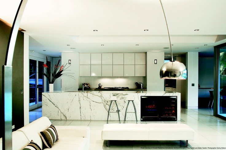 Design your home with an integrated Vintec wine cellar.