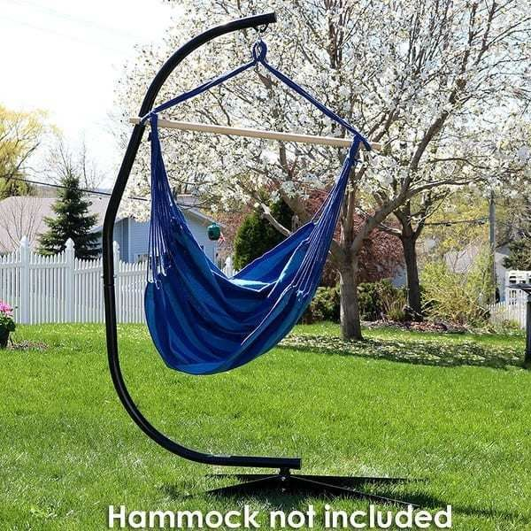 C Stand Style For Hanging Hammock Chairs Free Shipping