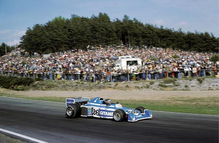 Jacques Laffite, Ligier JS5 Zolder, 1976.