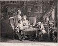 Daniel Nikolaus Chodowiecki Cabinet d'un peintre
