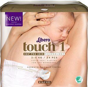 Touch öppen blöja 1 - Touch öppen blöja - Blöjor, byxblöjor och babyvård…