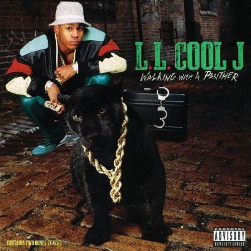 USED CASSETTE Released in 1989, Walking with a Panther is the third studio album by American hip-hop artist LL Cool J. Def Jam Recordings OCT 45274 Side 1: Droppin' Em Smokin' Dopin' Fast Peg Clap You