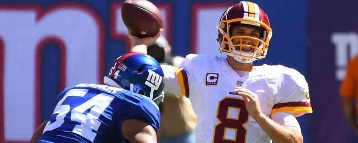 Kirk Cousins' throws, not the contract, are reason for early struggles