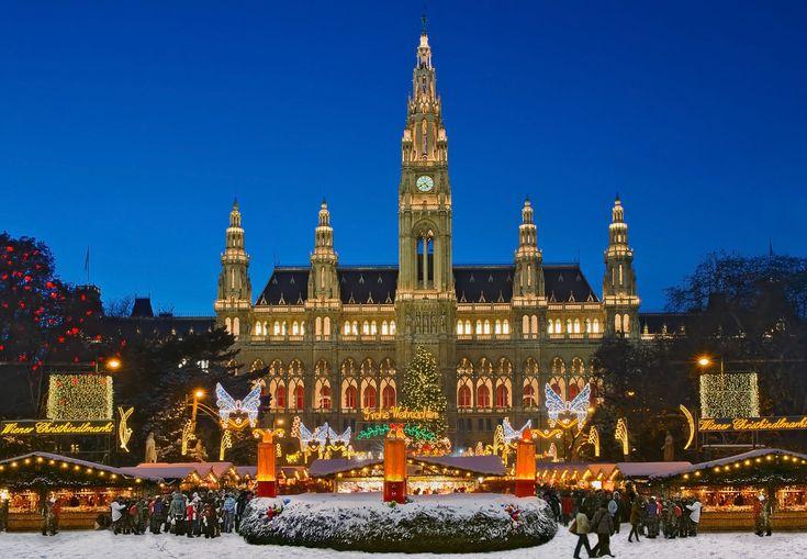 El acogedor mercadillo de navidad de Viena