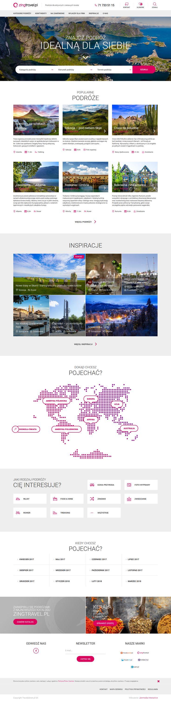 #www #webdesign #UX #layout #travel #design #website
