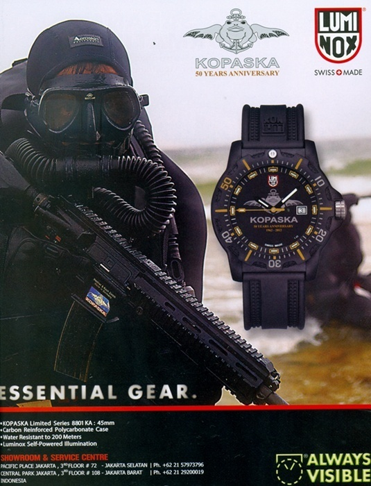 Luminox Kopaska 50 Years Anniversary edition.