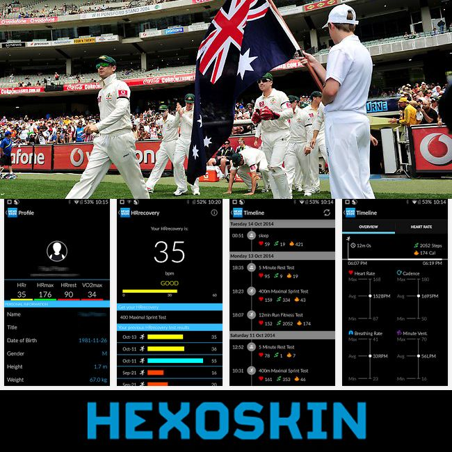 Playing or training for the new #cricket season? Try measuring every hit, run or bowl & see how your body reacts with #biometrics #wearabletech from  #Hexoskinoceania www.hexoskin.com.au