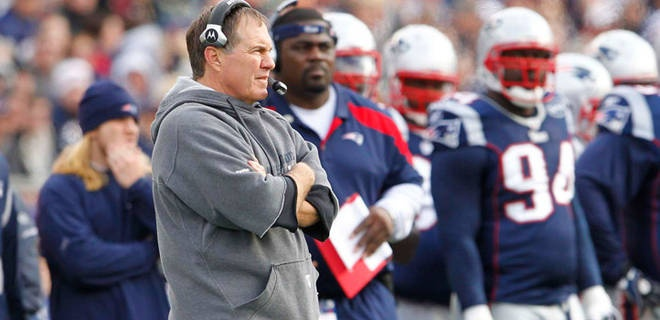 NFL Hoodie – Bill Belichick Style!  Now, Patriots fans seeking to support their coach and channel Belichick's sideline genius can also mimic his one-of-a-kind fashion choices. This year's version of Belichick's familiar sleeve-shortened sweatshirt is available from the Patriots Pro Shop – for $75.