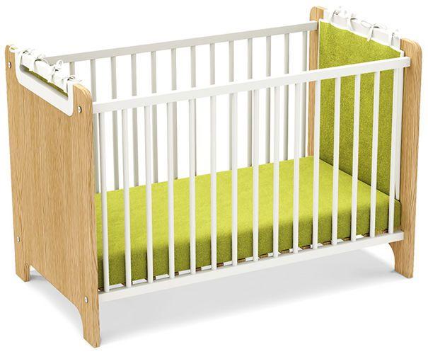 Łóżeczko dziecięce FIRST  Łóżko niemowlęce pod materacyk 120x60cm. Dzięki…