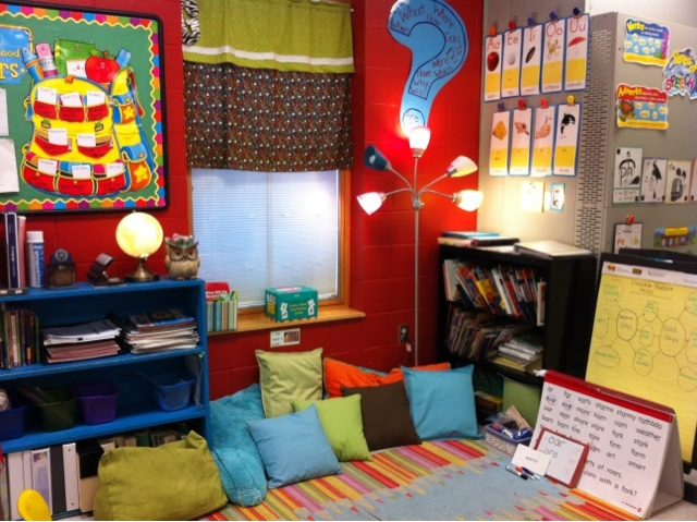 Cozy Reading Rug And Guided Reading Center The Tally