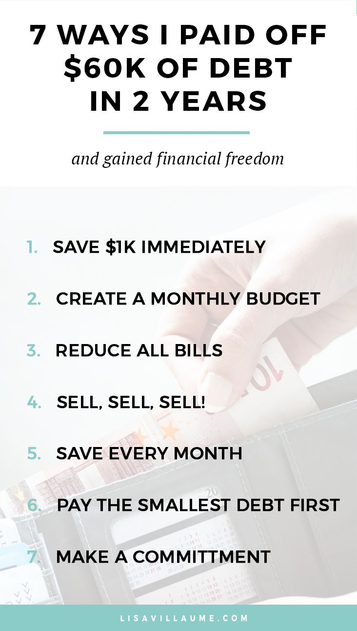When you have financial debt it's hard to leave a job you hate for fear of having no money. Learn how I paid off $60k in debt in 2 years and how you can pay off debt fast!