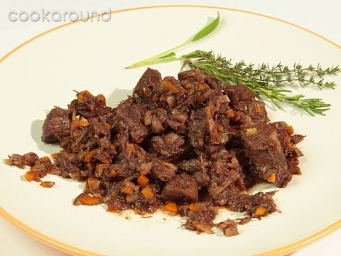 Cinghiale in civet, or Wild Boar: Traditional Piemontese recipes