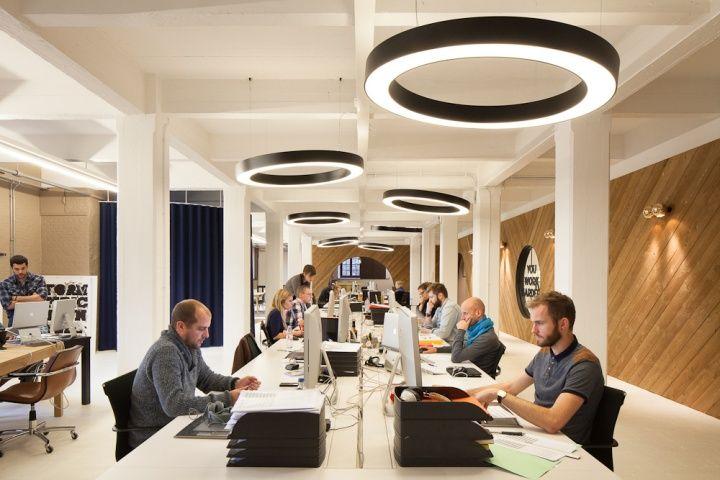 Pinkeye's headquarters, Antwerp  office design