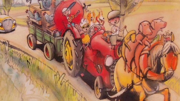 Superleuk liedje over boer #Boris voor de Nationale #Voorleesdagen van 2015. Muziek: Ogham.