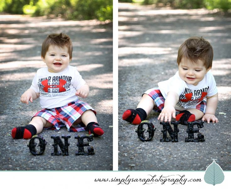 One Year Old Baby Boy Photo Shoot Ideas Kids Portraits