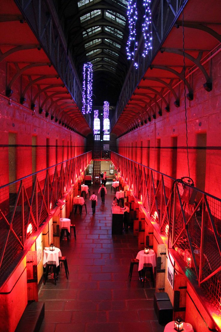Such a unique event venue! Old Melbourne Gaol with Cnk Catering