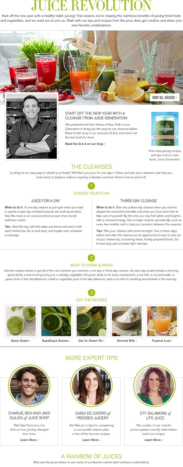 Juicing for joint health