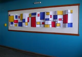 Mondrian Bulletin Board