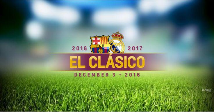 Купить билеты на футбол Эль Классико El Clásico, Реал Мадрид - ФК Барселона сезон 2016-2017. 3-4 декабря 2016 года в Барселоне, 22-23 апреля 2017 года в Мадриде.