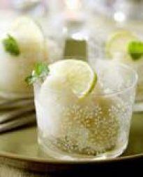 Limoensorbet Met Wodka