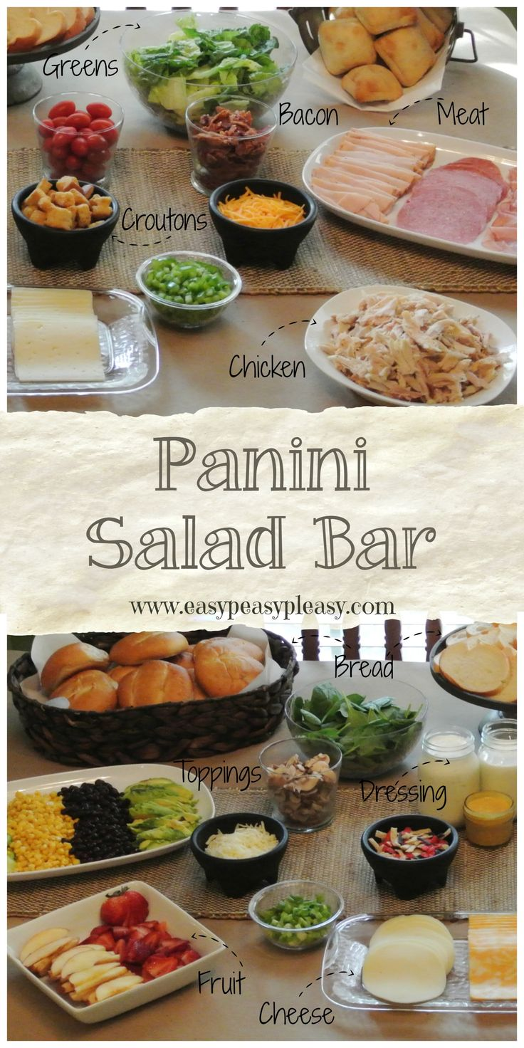 Salad bar ideas images galleries with for Bash bash food bar vodice