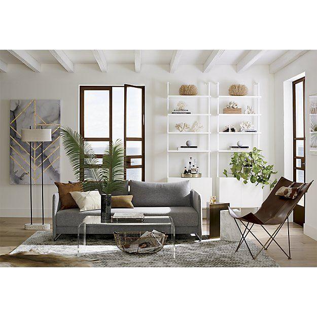 Tread Tufted Rug Cb2 Cb2 Living Room Living Room Designs