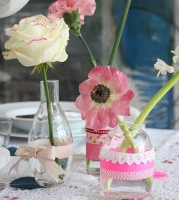 DIY Wedding Table Decoration Ideas | Neon Bright Tablescape | Click Pic for 20 Easy DIY Wedding Decorations