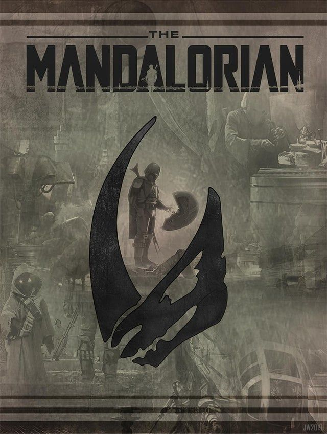 I Made A Fan Poster To Share My Love Of The Mandalorian Bring On Season 2 Themandaloriantv Star Wars Movies Posters Star Wars Artwork Star Wars Awesome