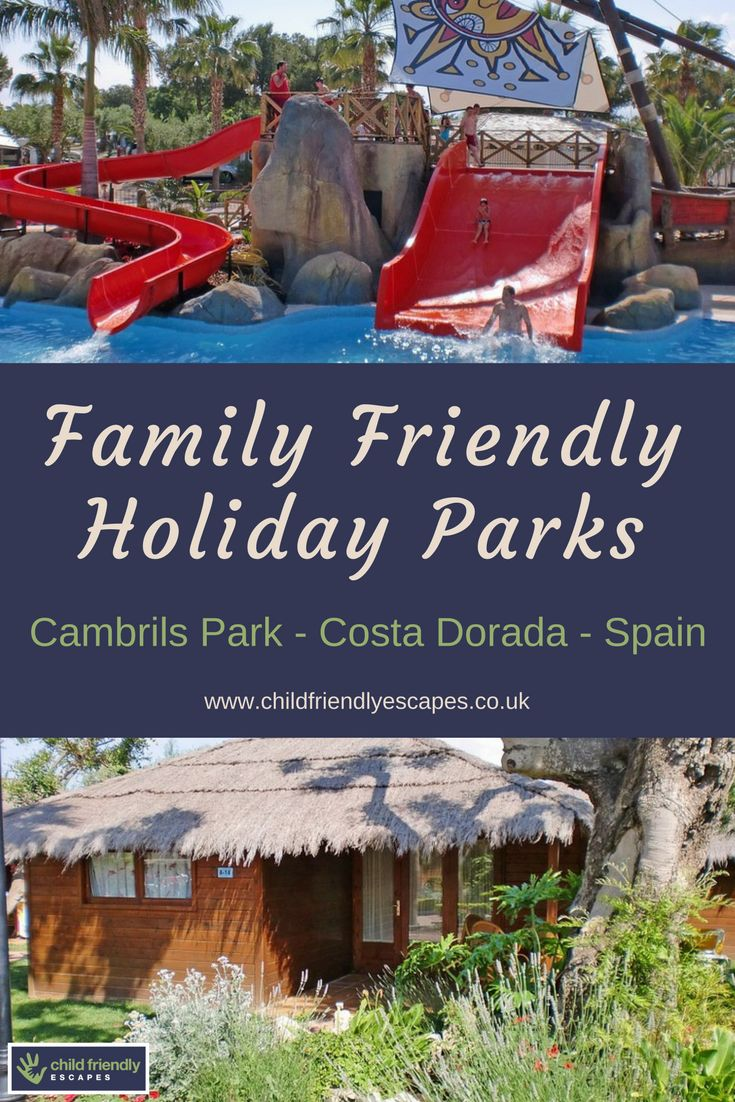 A premium 5 star park ideal for a family holiday with a great water park and family entertainment. Great location not far from Cambril harbor, Costa Dorada