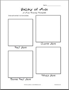 117 best MUSIC WORKSHEETS images on Pinterest | Music, Activities ...