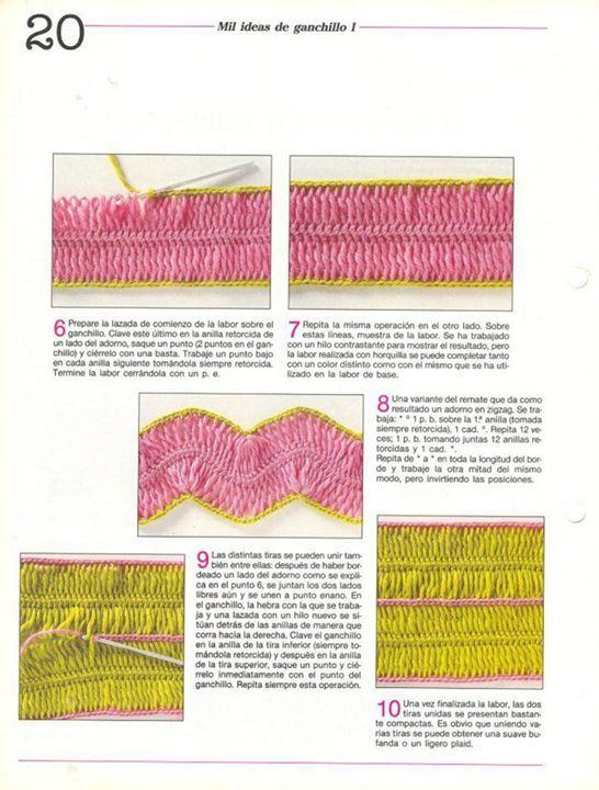 Como Tejer Crochet con Horquilla Tutoriales - enrHedando