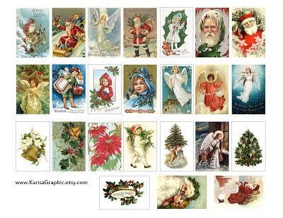 146 best christmas gift tags wrap ideas images on pinterest free christmas vintage printable the size of the tags is 2x125 inch 48x32 negle Choice Image