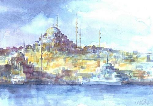 Eminonu Skyline Oriental
