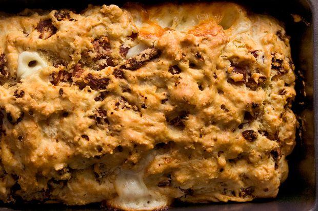Pepperoni Pizza Quick Bread