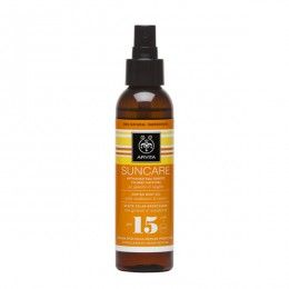 SUNCARE Suntan Body Oil SPF 15 with carrot & sunflower. Medium Protection from UVA and UVB #radiation #Deep Suntan #Moisturization #Radiance Suntan body oil (SPF 15 and UVA 11) ideal for skin that gets easily tanned and for those who want a deep suntan early in the summer. Read more at www.apivita.com