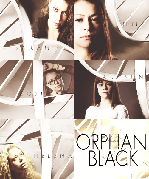 Orphan Black. Seriously, if you are not watching this show then this is me informing you about the huge, gaping hole in your life. <3