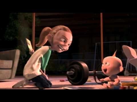 jack jack attack - los increibles ( corto de Pixar )