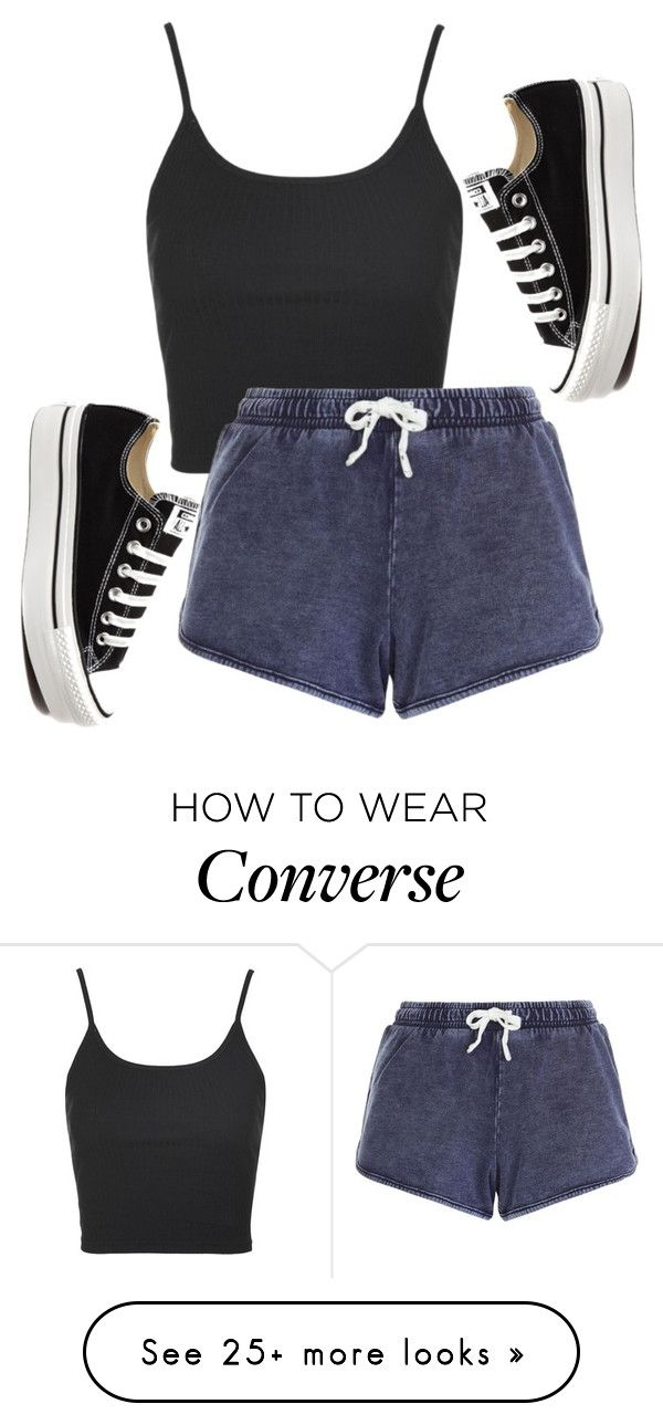 """""""Untitled #574"""" by deima-835 on Polyvore featuring Topshop and Converse"""