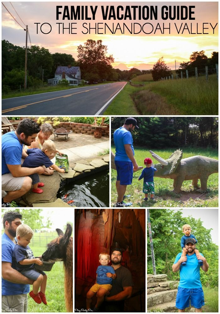 Everything you need to plan an awesome family vacation to the Shenandoah Valley - places to go, eat, and stay!