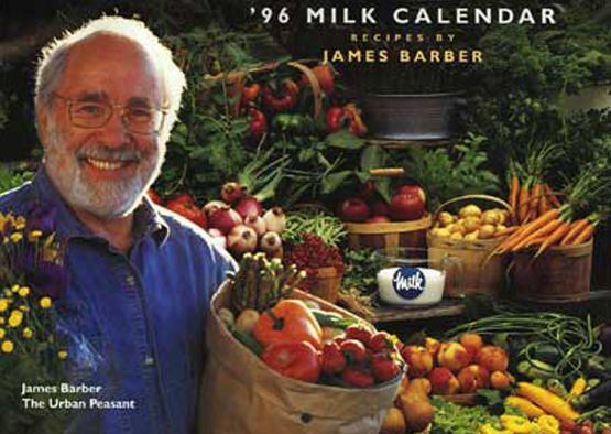 James Barber Recipes - The Milk Calendar