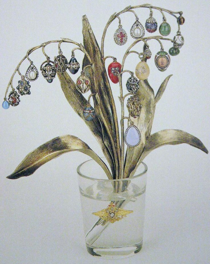 faberge+flower+bouquet+vase+rock+crystal+floral+diamond+gem+egg+imperial+russian2.JPG 765×964 pixels