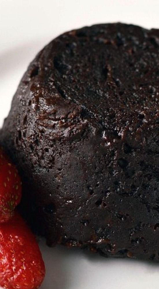 Gooey chocolate mug cake - A single serving cake made in minutes!