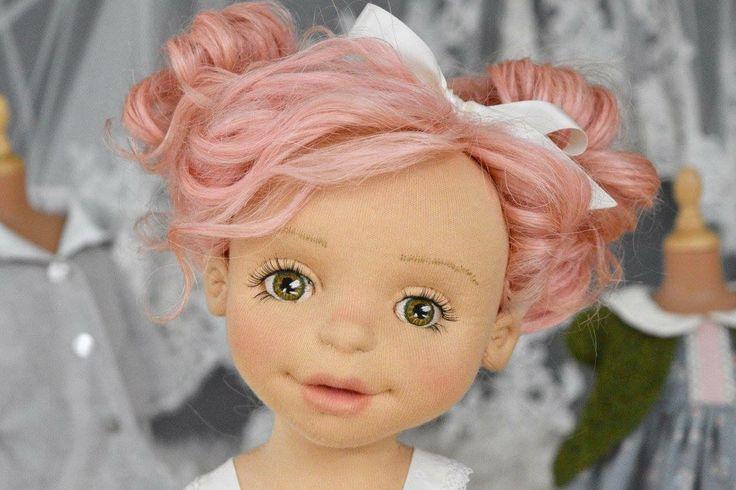 """Juniper""-18"" OOAK Natural Fiber Art Doll by Tara's Doll Studio"
