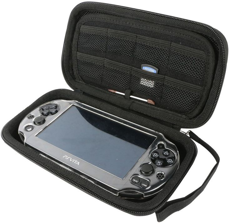 For Sony Psvita PS Vita 1000 and PSVita Slim (PSV 2000)PSP PlayStation 3000 All-in-one Double Compartment Hard Carry Travel Case Bag
