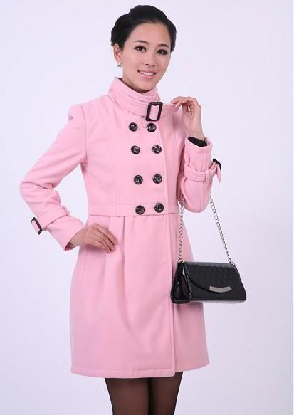 Розовые пальто фото