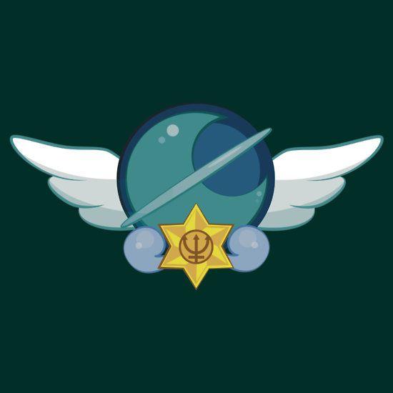 Sailor Neptune Crest by eveningshadow YOOOOOOOOO