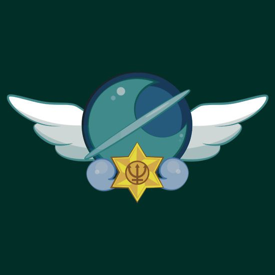 Sailor Neptune Crest by eveningshadow YOOOOOOOOO
